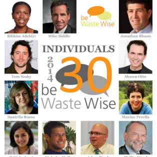 The 2014 be Waste Wise 30 - Individuals