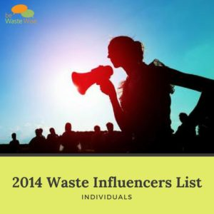 2015 waste influencers individuals