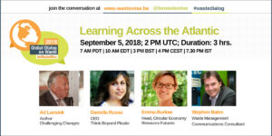Learning Across The Atlantic | 2018 Global Dialogue on Waste