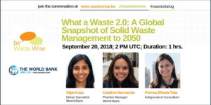 What a Waste 2.0: A Global Snapshot of Solid Waste Management to 2050