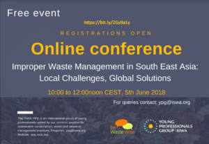 Effects of Improper Waste Management in South East Asia: Local Challenges, Global Solutions with ISWA YPG