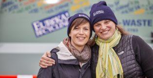 Lynn Hoffman & Kate Davenport, Eureka Recycling