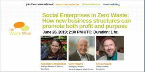 Social Enterprises in Zero Waste: How New Business Structures Can Promote Both Profit and Purpose