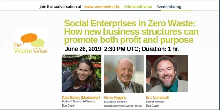 Social Enterprises in Zero Waste